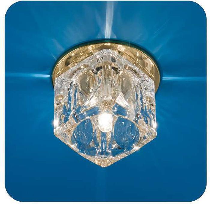Светильник встраиваемый ITALMAC Ice 12 7 04, куб большой, цвет: золотистый, G4. IT8169 растровые встраиваемые светильники 3х14w встраиваемый 600х600