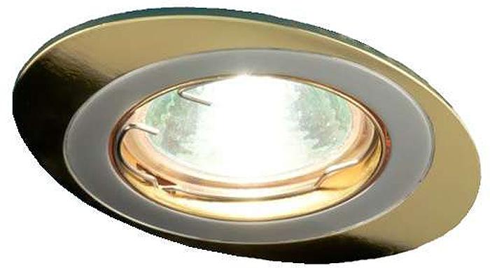 Светильник встраиваемый поворотный ITALMAC Orbita 51 1 24, литой, комбинированный, MR16, цвет: золотистый, никель. IT8043 растровые встраиваемые светильники 3х14w встраиваемый 600х600