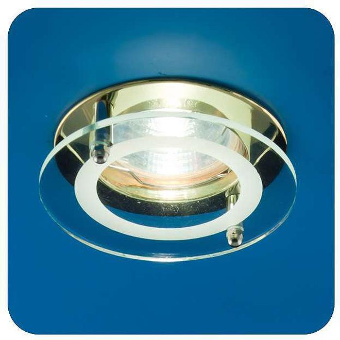 Светильник встраиваемый ITALMAC Quartz 51 2 04, с накладным стеклом, круглый, цвет: золотистый, MR16. IT8055 растровые встраиваемые светильники 3х14w встраиваемый 600х600