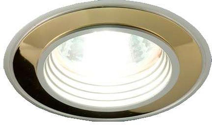 Светильник встраиваемый ITALMAC Vulkan 51 0 22, литой, комбинированный, MR16, цвет: золотистый, никель. IT8048 растровые встраиваемые светильники 3х14w встраиваемый 600х600