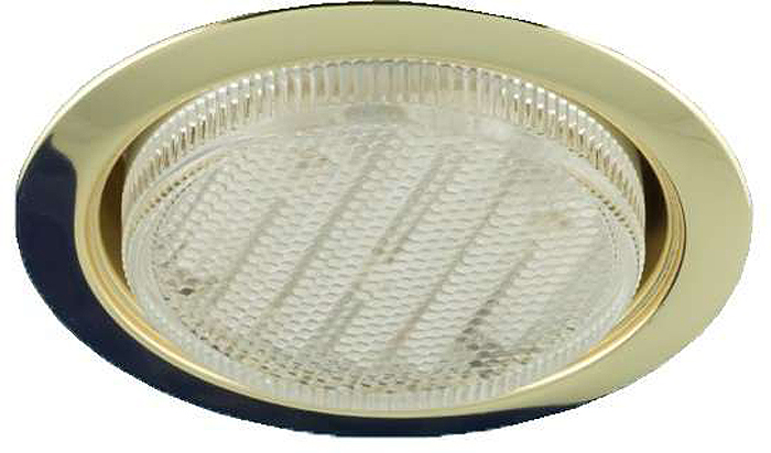 Светильник встраиваемый ITALMAC Montana 53 LED 08 04, цвет: золотистый. IT8542 растровые встраиваемые светильники 3х14w встраиваемый 600х600