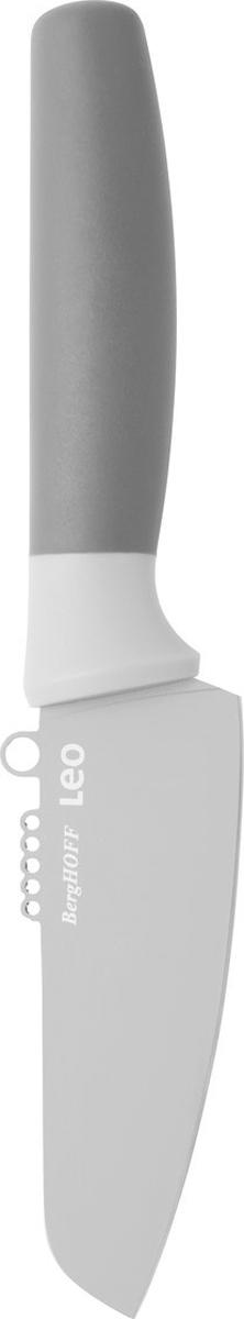Нож для овощей и цедры BergHOFF, цвет: серый, длина лезвия 11 см