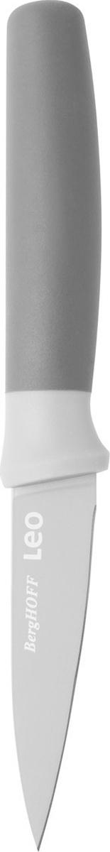 Нож для очистки овощей BergHOFF, цвет: серый, длина лезвия 8,5 см