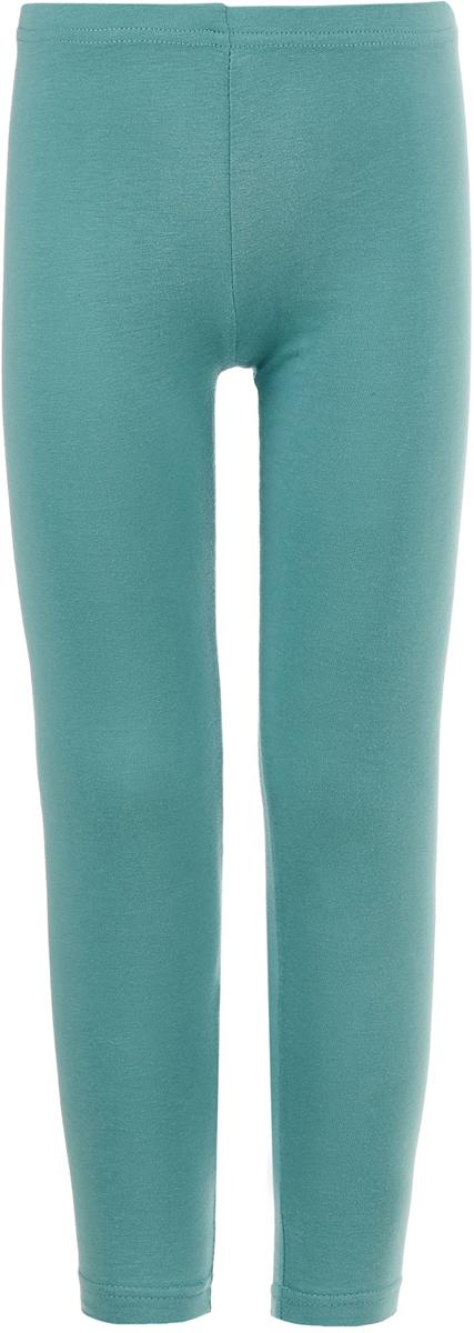 Леггинсы для девочки Button Blue, цвет: бирюзовый. 118BBGC13023300. Размер 122118BBGC13023300Детские леггисы - удобная и практичная одежда для лета. Купить леггинсы для девочки, значит обеспечить ее модным и функциональным предметом гардероба, который можно носить с повседневной одеждой или использовать для занятий спортом. Трикотажные леггинсы идеально сочетаются с юбками и платьями, а также со многими другими вещами.