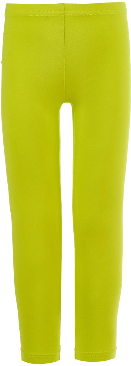 Леггинсы для девочки Button Blue, цвет: салатовый. 118BBGC13022700. Размер 104118BBGC13022700Детские леггисы - удобная и практичная одежда для лета. Купить леггинсы для девочки, значит обеспечить ее модным и функциональным предметом гардероба, который можно носить с повседневной одеждой или использовать для занятий спортом. Трикотажные леггинсы идеально сочетаются с юбками и платьями, а также со многими другими вещами.