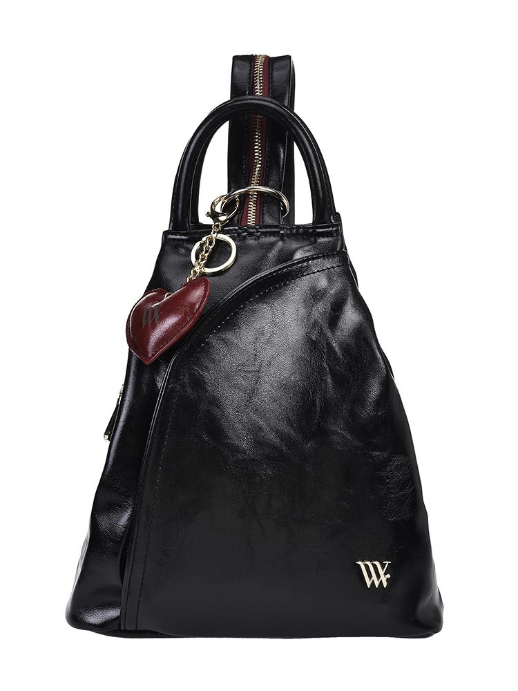 Рюкзак женский Vera Victoria Vito, цвет: черный. 33-508-1 сумка на плечо женская vera victoria vito цвет розовый 33 718 9