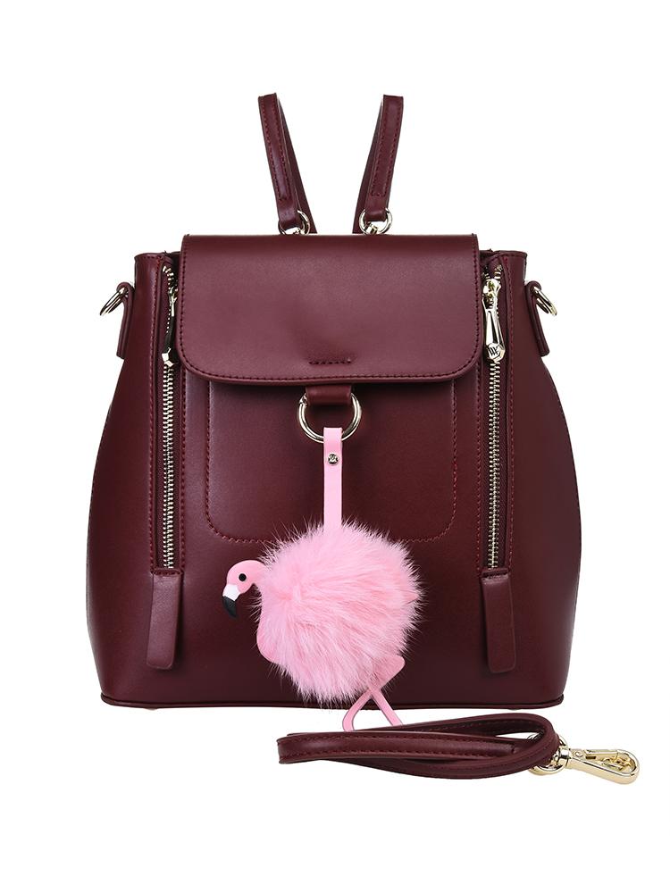 Рюкзак женский Vera Victoria Vito, цвет: бордовый. 33-749-14 сумка на плечо женская vera victoria vito цвет розовый 33 718 9