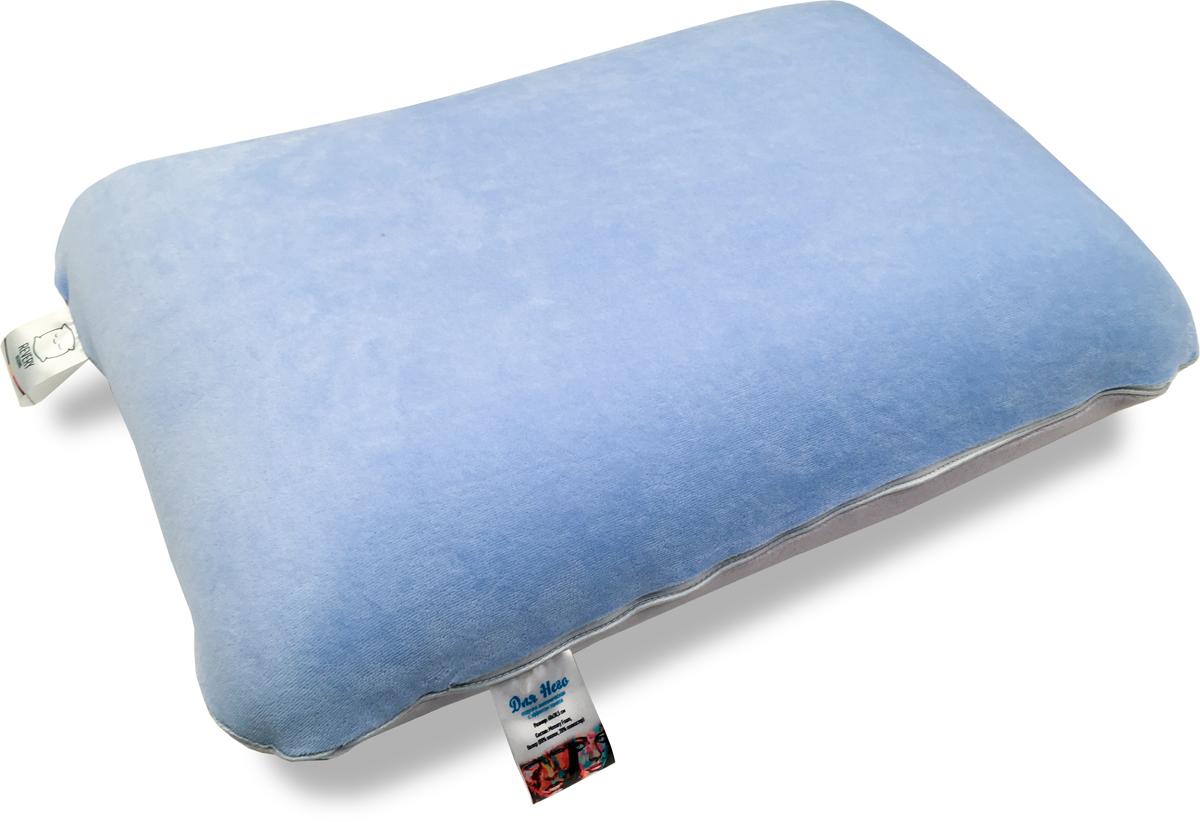 Подушка Revery Для Него, наполнитель: пенополиуретан, 60 x 40 смPO.DLYANEGOАнатомические подушки с эффектом памяти Для Него - это не только приятный сюрприз, но и забота о здоровье близких. Подушка Для Него выполнена из велюра c наполнителем из пенополиуретана.
