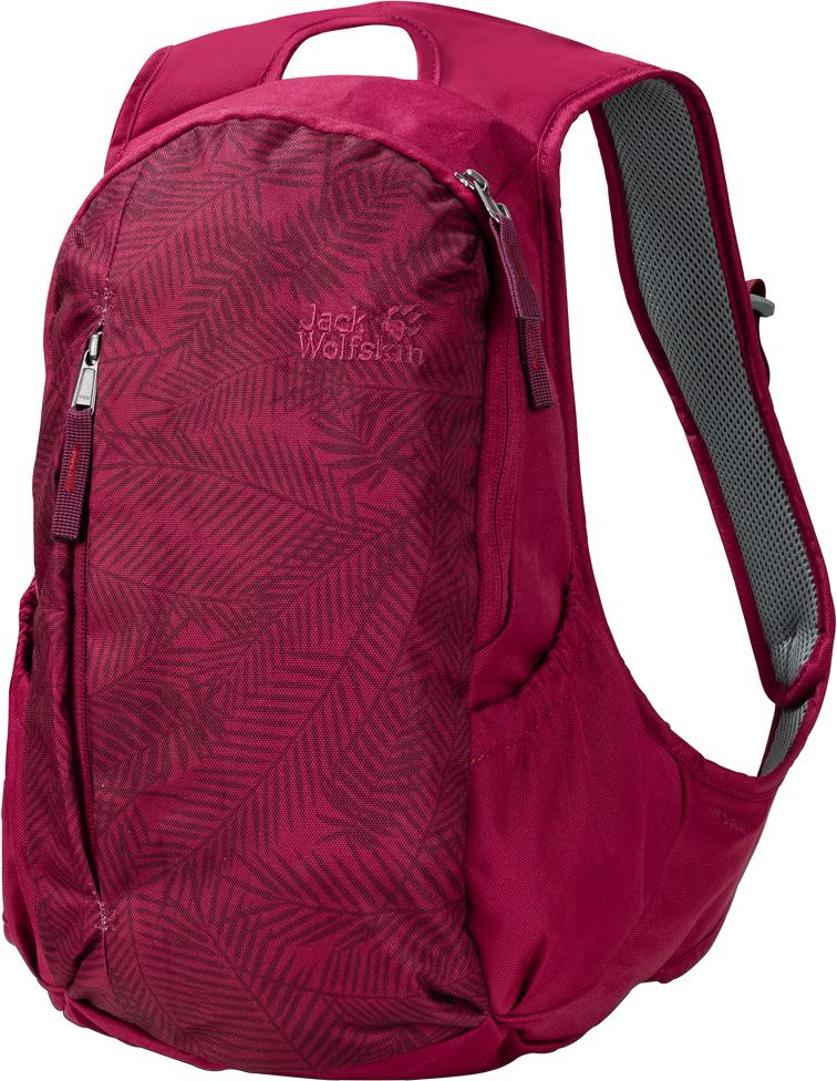 Рюкзак городской женский Jack Wolfskin Ancona, цвет: бордовый. 2005321-80042005321-8004Если ваши дни проходят в разъездах между офисом, городом и егоокрестностями, этот рюкзак позволит вам с комфортом носить с собой всенеобходимое.Компактный классический рюкзак Ancona разработан специально для женщин.Его новейшая версия отличается несколько большим объемом и новымибоковыми карманами. Классическая комбинация фронтального и основногоотделений, а также двух эластичных боковых карманов позволяет аккуратнораспределить все ваше снаряжение.Ключевым достоинством этой модели является система подвески,разработанная специально для женщин. Широкие и мягкие лямки и контактнаяповерхность обеспечивают максимальный комфорт вашей спины при ношении.При разработке системы подвески для женщин целью было создание плотноприлегающих к телу закругленных лямок без раздражающих кончиков,болтающихся всю дорогу.
