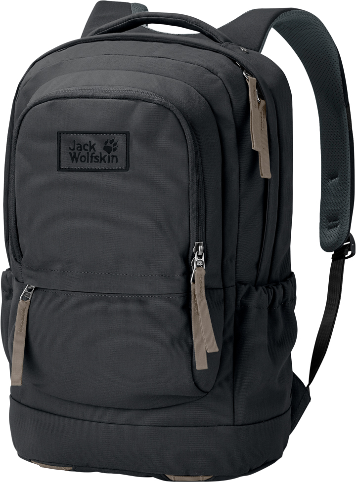 Рюкзак городской Jack Wolfskin Road Kid 20 Pack, цвет: черный. 2005431-63502005431-6350Юного начинающего странствующего рабочего (хобо) обычно называли дитя дорог. Городской рюкзак Road Kid 20 Pack предназначен для ежедневного использования (поэтому мы сделали в нем отделение для ноутбука). Его также можно взять с собой в короткую поездку, в которой требуется только самое необходимое. Многочисленные отделения и наружные карманы позволяют аккуратно упаковать даже небольшое количество походного снаряжения. На создание серии Фронтир нас вдохновил образ жизни американских странствующих рабочих (хобо). Зарабатывая на жизнь сезонными заработками, им приходилось колесить по всей стране, зачастую — на товарных поездах. Их вещам полагалось быть прочными, и частенько они были продуманы со смекалкой и приспособлены под индивидуальные нужды путешественников. Именно эти идеи использовались при создании сумок и рюкзаков данной серии.