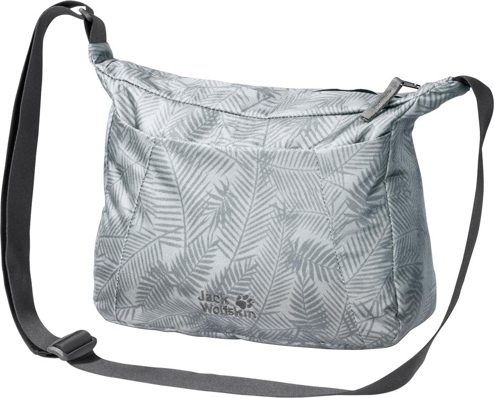 Сумка на плечо женская Jack Wolfskin Valparaiso Bag, цвет: серый. 2005501-8003