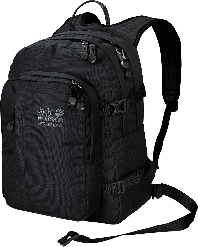 Рюкзак городской Jack Wolfskin Berkeley, цвет: черный. 25336-6000 рюкзак jack wolfskin dayton цвет черный 2002481 6000