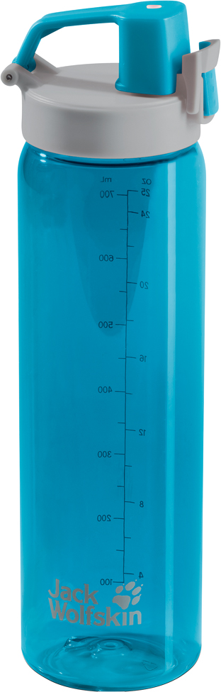 Бутылка спортивная Jack Wolfskin Tritan Bottle, цвет: голубой, 700 мл. 8006131-10818006131-1081Бутылка спортивная Jack Wolfskin Tritan Bottle идеально подходит для занятиййогой или фитнессом на свежем воздухе. Бутылка очень легкая и практическивечная. Эргономичное горлышко означает, что вы можете пить прямо вовремя движения. Удобная ручка позволяет пристегнуть бутылку к вашей сумкеили рюкзаку, оставляя руки свободными.