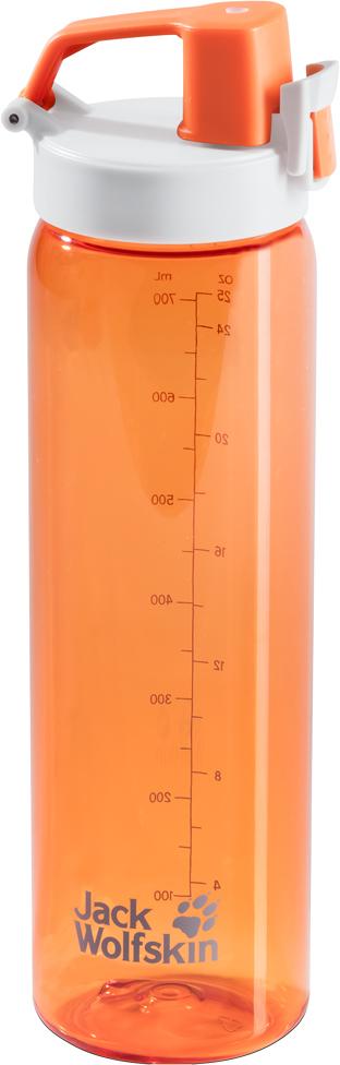 Бутылка спортивная Jack Wolfskin  Tritan Bottle , цвет: оранжевый, 700 мл. 8006131-3270 - Шейкеры и бутылки