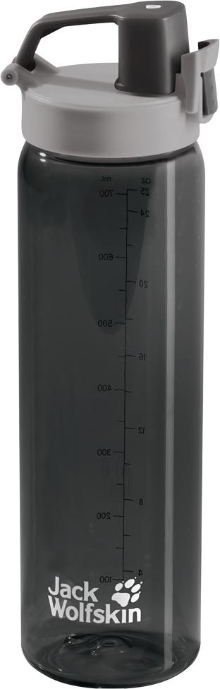 Бутылка спортивная Jack Wolfskin Tritan Bottle, цвет: черный, 700 мл. 8006131-63508006131-6350Бутылка спортивная Jack Wolfskin Tritan Bottle идеально подходит для занятиййогой или фитнессом на свежем воздухе. Бутылка очень легкая и практическивечная. Эргономичное горлышко означает, что вы можете пить прямо вовремя движения. Удобная ручка позволяет пристегнуть бутылку к вашей сумкеили рюкзаку, оставляя руки свободными.