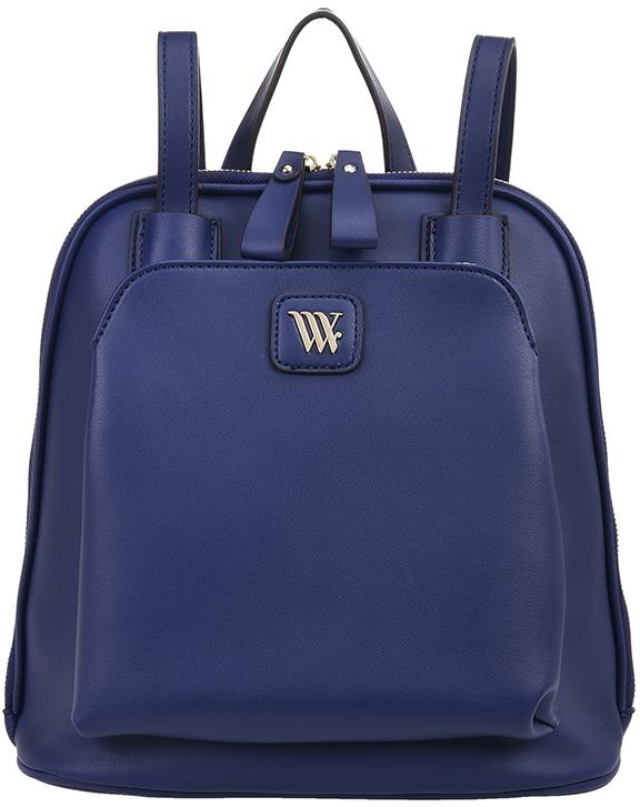 Рюкзак женский Vera Victoria Vito, цвет: синий. Gissi-5 сумка на плечо женская vera victoria vito цвет розовый 33 718 9