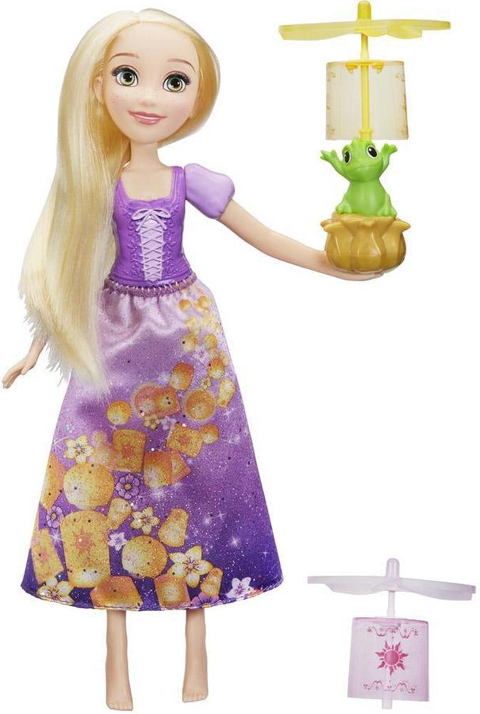 Disney Princess Игровой набор с куклой Рапунцель и летающий фонарик disney princess игровой набор мерида и пони