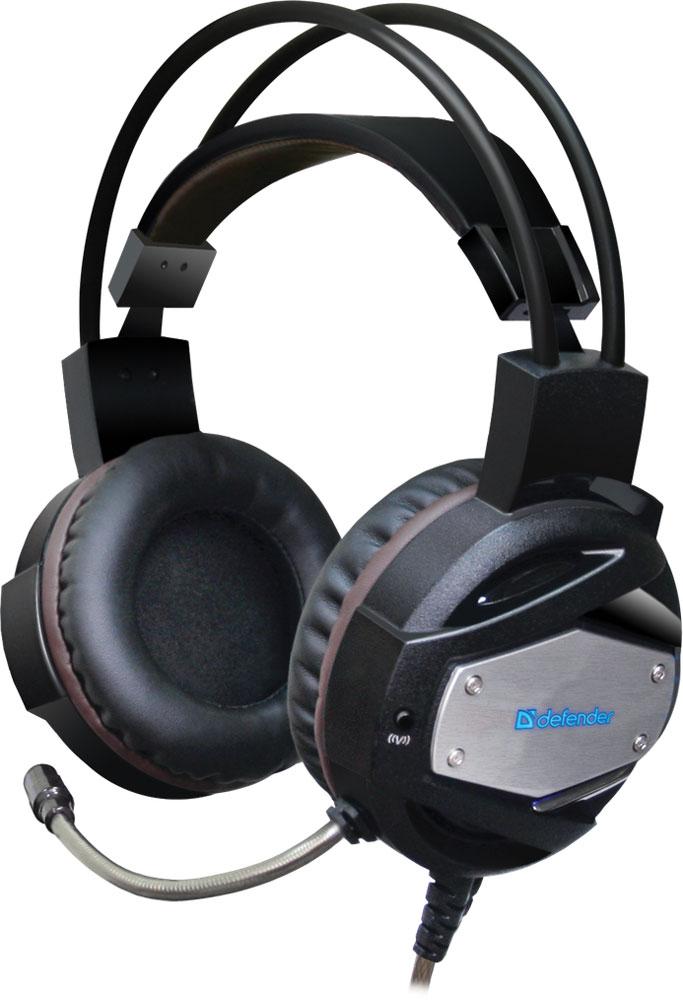 Defender Warhead G-500, Black Brown игровая гарнитура