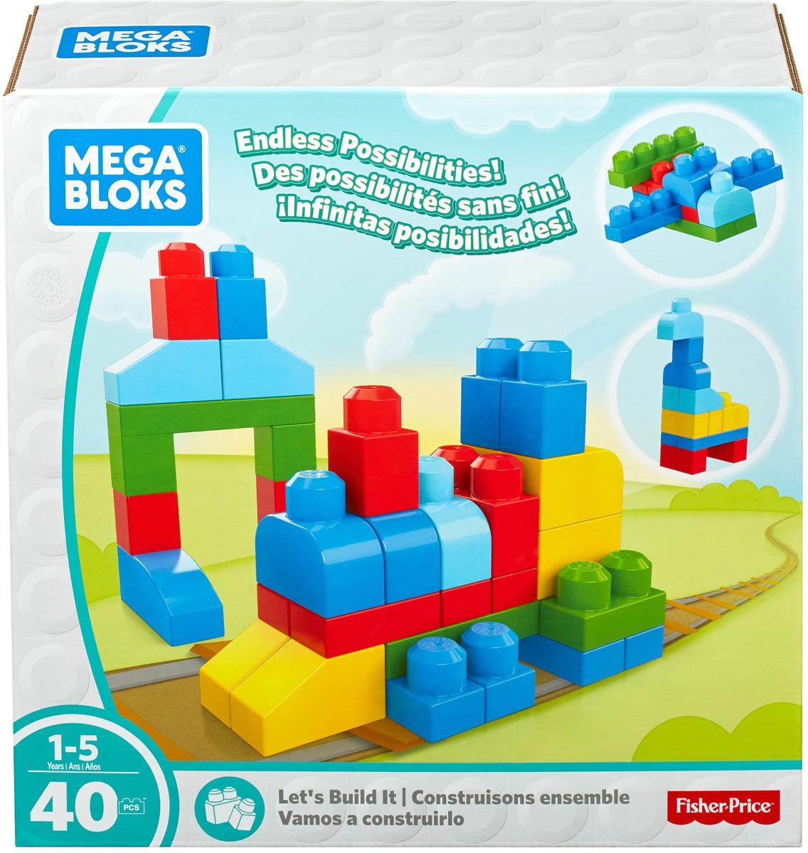 Mega Bloks Pre-School Конструктор Строим и развиваемся