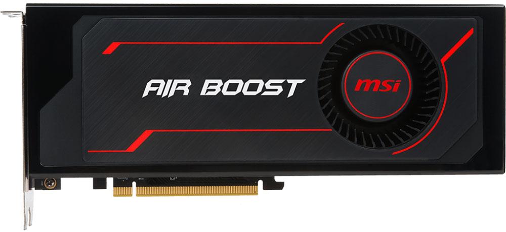 MSI Radeon RX Vega 64 Air Boost OC 8GB видеокартаRX VEGA 64 AIR BOOST 8G OCГрафическая карта Radeon RX Vega разработана специально для экстремальных геймеров, кто стремится квысочайшей производительности в играх на максимальных разрешениях с самым высоким FPS, поддержкойпередовых технологий и заделом на будущее.Испытайте новые ощущения от погружения в мир виртуального гейминга и развлечений вместе с графическимикартами Radeon RX с революционной архитектурой Polaris.Одним из решающих факторов в производительности является качество используемых компонентов. Вот почемуMSI использует только MIL-STD-810G сертифицированные компоненты для карты Radeon RX 480, ведь только этикомпоненты оказались в состоянии выдержать напряженные условия экстремального гейминга и разгона.Solid CAP с их алюминиевым сердечником долгое время являются одним из определяющих факторов в дизайне, таккак обеспечивают более низкое эквивалентное последовательное сопротивление (ESR), а также 10-летний срокслужбы.Для того чтобы в полной мере насладиться впечатляющими мирами виртуальной реальности необходимовысокопроизводительное оборудование. Хотите подготовить вашу систему к поддержке технологий VR? MSI -ведущий мировой бренд в мире high-end гейминга и киберспорта дает совет как это сделать. Объединяя толькосамые передовые технологии, MSI создает оборудование для приложений виртуальной реальности. MSIпереносит любителей компьютерных игр на совершенно новый уровень реализма виртуальной реальности, гдеигры оживают.MSI Afterburner – это самое популярное приложение в мире для разгона графических карт, которое позволяетполучить полный контроль над видеокартой. Утилита также позволяет получать исчерпывающую информацию обаппаратной части вашего ПК, производить настройку работы вентиляторов, осуществлять запись видео ивыполнять тестирование.