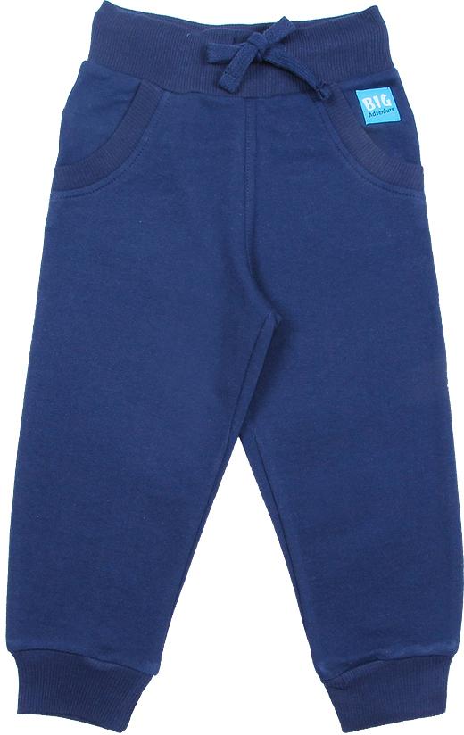 Брюки для мальчика Cherubino, цвет: темно-синий. CWB 7644. Размер 86CWB 7644Удобные теплые брюки для мальчика Cherubino выполнены из футера с начесом. Модель выполнена в спортивном стиле и дополнена боковыми карманами. Брюки имеют эластичный притачной пояс на широкой резинке, дополнительно регулируемый шнурком, благодаря чему они не сдавливают животик ребенка и не сползают. Нижние срезы брюк имеют притачные манжеты из кашкорсе с лайкрой.