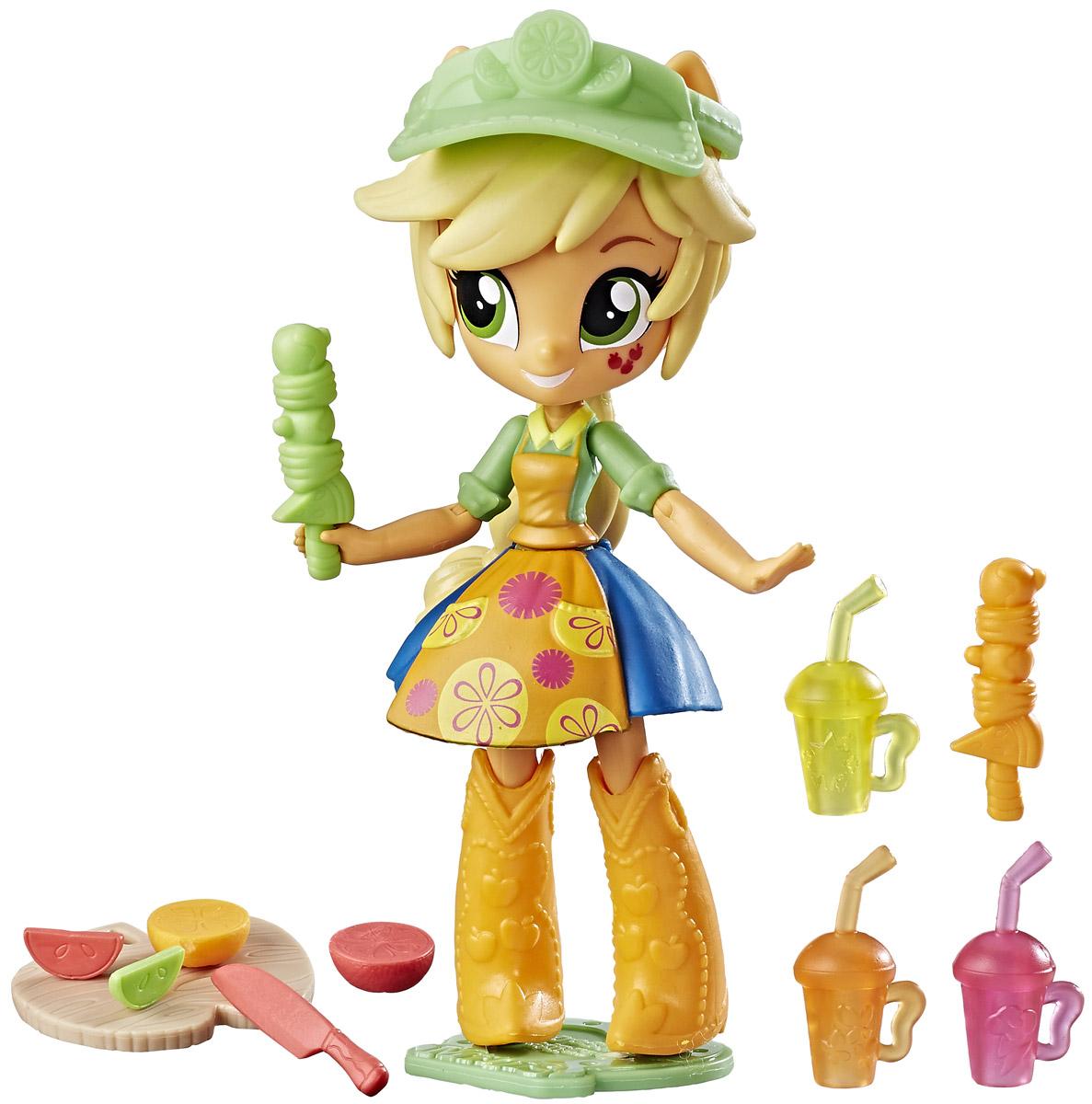 My Little Pony Equestria Girls Мини-кукла Applejack Fruit Smoothies Shop my little pony equestria girls мини кукла applejack fruit smoothies shop