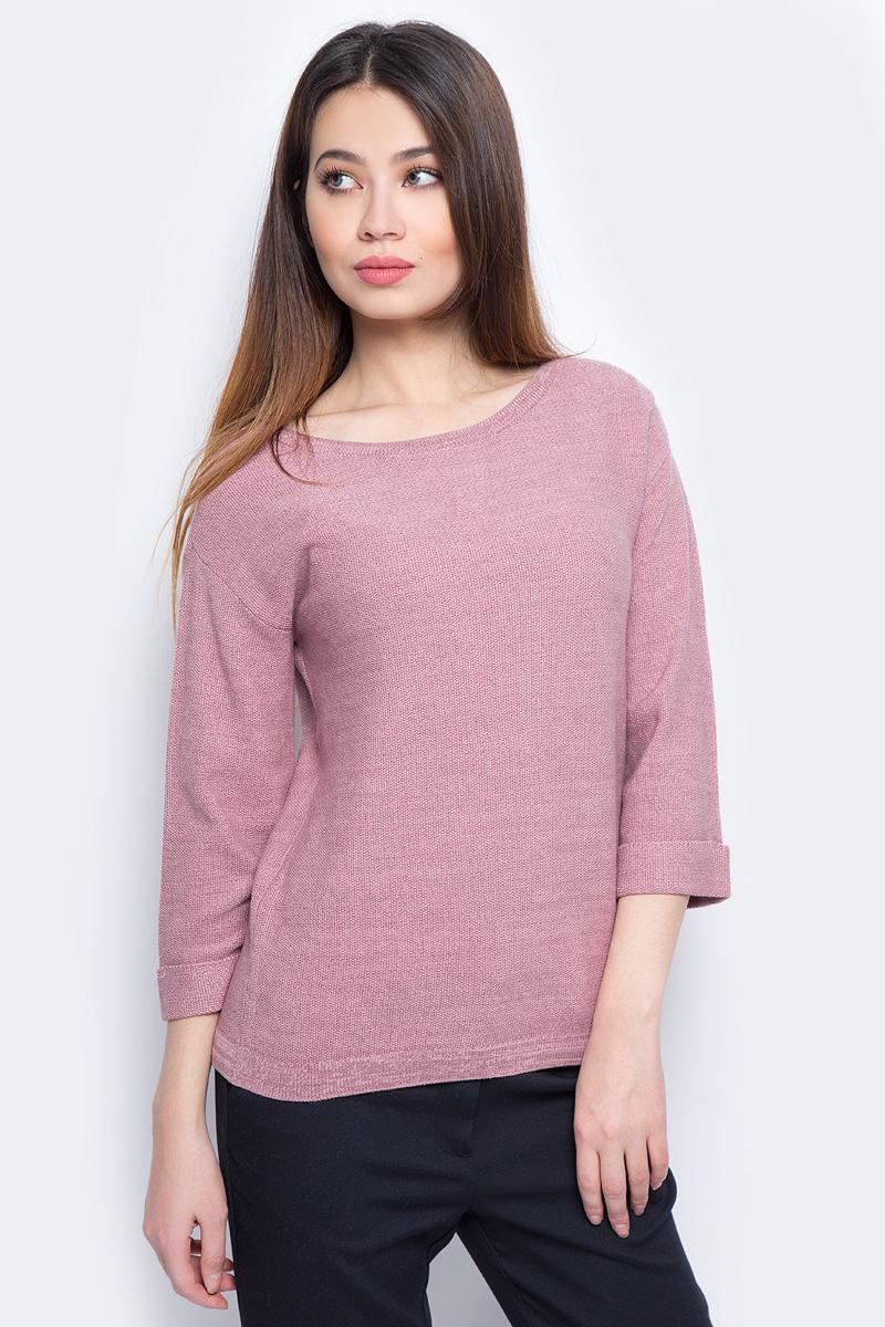 Джемпер женский Sela, цвет: розовый. JR-114/871-8131. Размер XS (42)