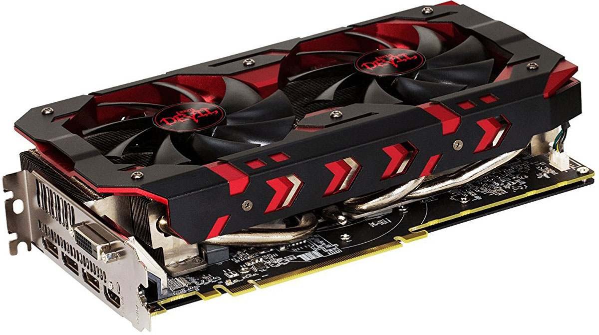 PowerColor Red Devil Radeon RX 580 Golden 8GB видеокарта