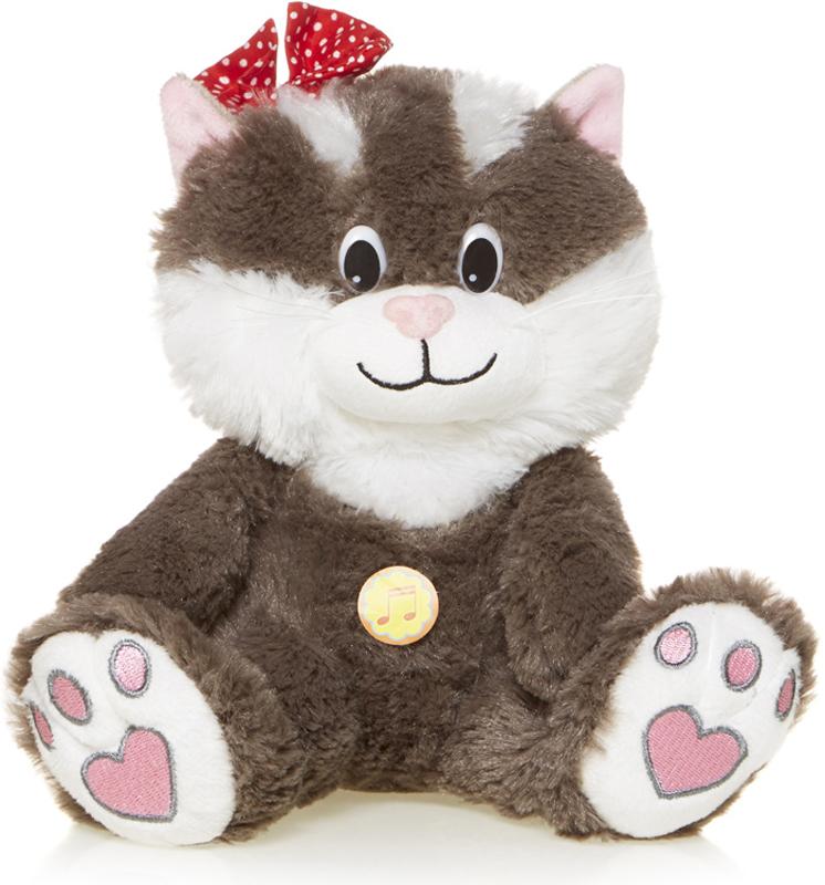 Maxitoys Мягкая озвученная игрушка Кошечка Мила 20 см игрушка