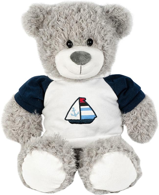 Maxitoys Мягкая игрушка Мишка Марти в футболке 27 см - Мягкие игрушки