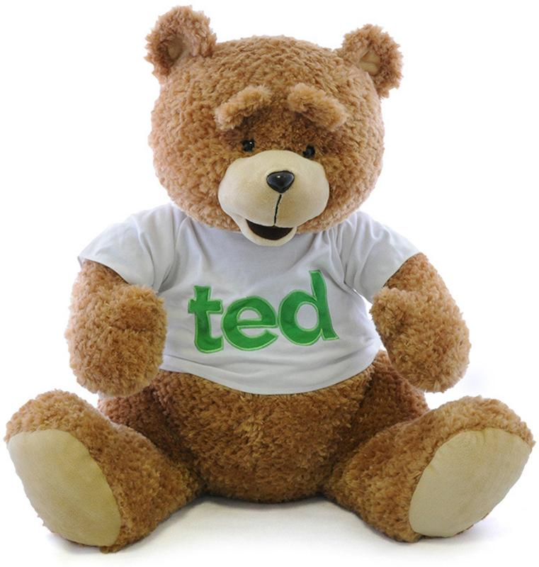 Maxitoys Мягкая игрушка Мишка Тед 65 см игрушка