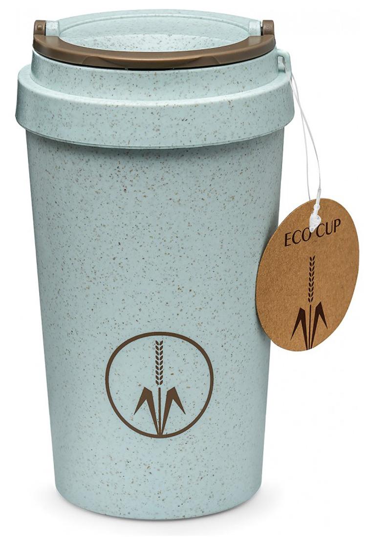 Термокружка Walmer Eco cup, цвет: голубой, 400 мл термокружка 0 35 л walmer princess w02002035