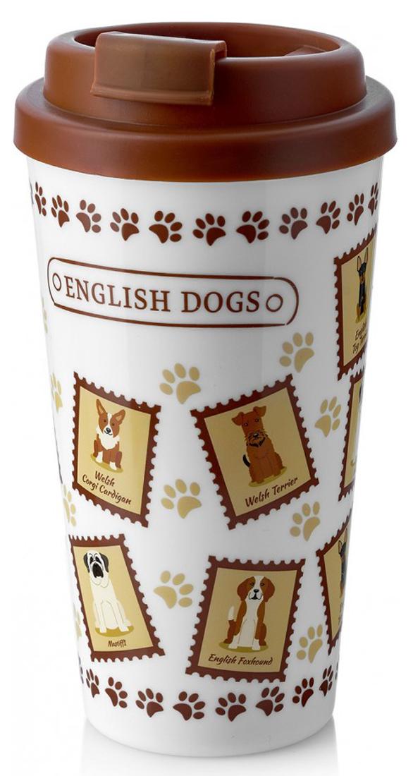 Термокружка Walmer English dogs, 450 мл термокружка 0 35 л walmer princess w02002035