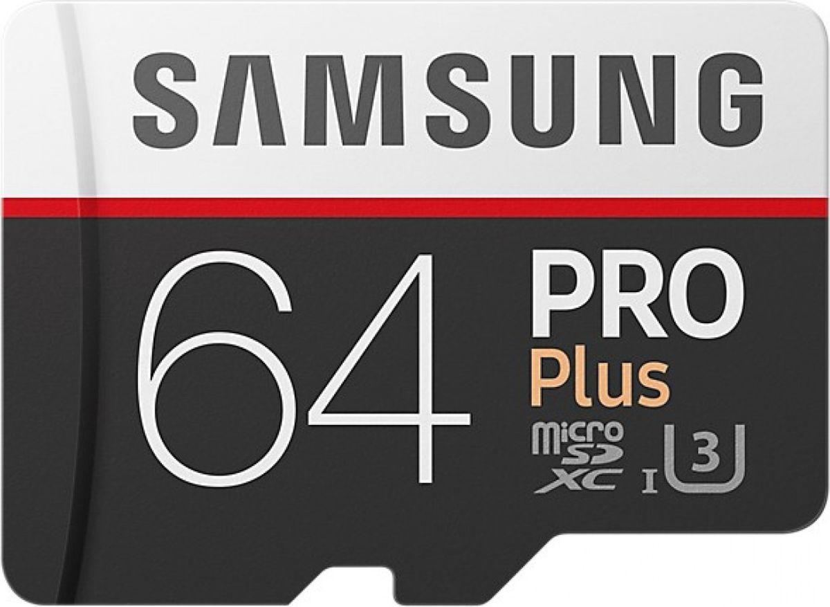 Zakazat.ru Samsung microSDHC PRO+ V2 64 GB карта памяти с адаптером