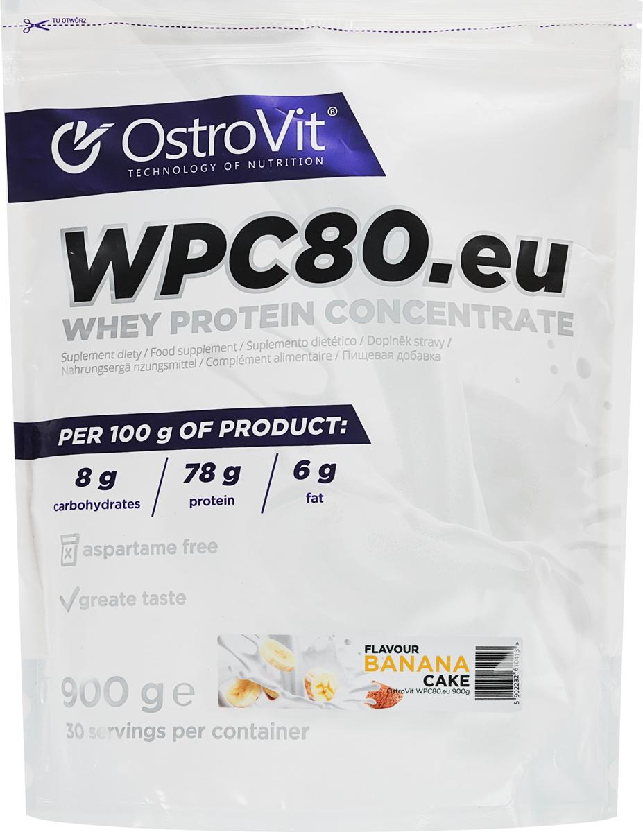Протеин OstroVit WPC80, банан, 900 г5902232610413Высококачественный Европейский протеин Ostrovit с Международной сертификацией GMP имеет в составе 80% белка и комплекс незаменимых аминокислот BCAA и EAA.Состав (1 мерная ложка - 30 г): калории 114 Ккал, белок 23,4 г, жиры 1,8 г, углеводы 4,29 г, натрий 0,225 мг, соль 0,14 г. Ингредиенты: концентрат сывороточного белка, полученный путем ультрафильтрации, рапсовый лецитин, сукралоза, подсластитель (экстракт стевии). Уважаемые клиенты! Обращаем ваше внимание на то, что упаковка может иметь несколько видов дизайна. Поставка осуществляется в зависимости от наличия на складе.Как повысить эффективность тренировок с помощью спортивного питания? Статья OZON Гид