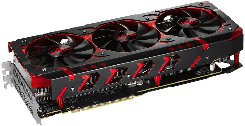 PowerColor Red Devil Radeon RX Vega 64 HBM2 8GB видеокарта видеокарта для компьютера в благовещенске