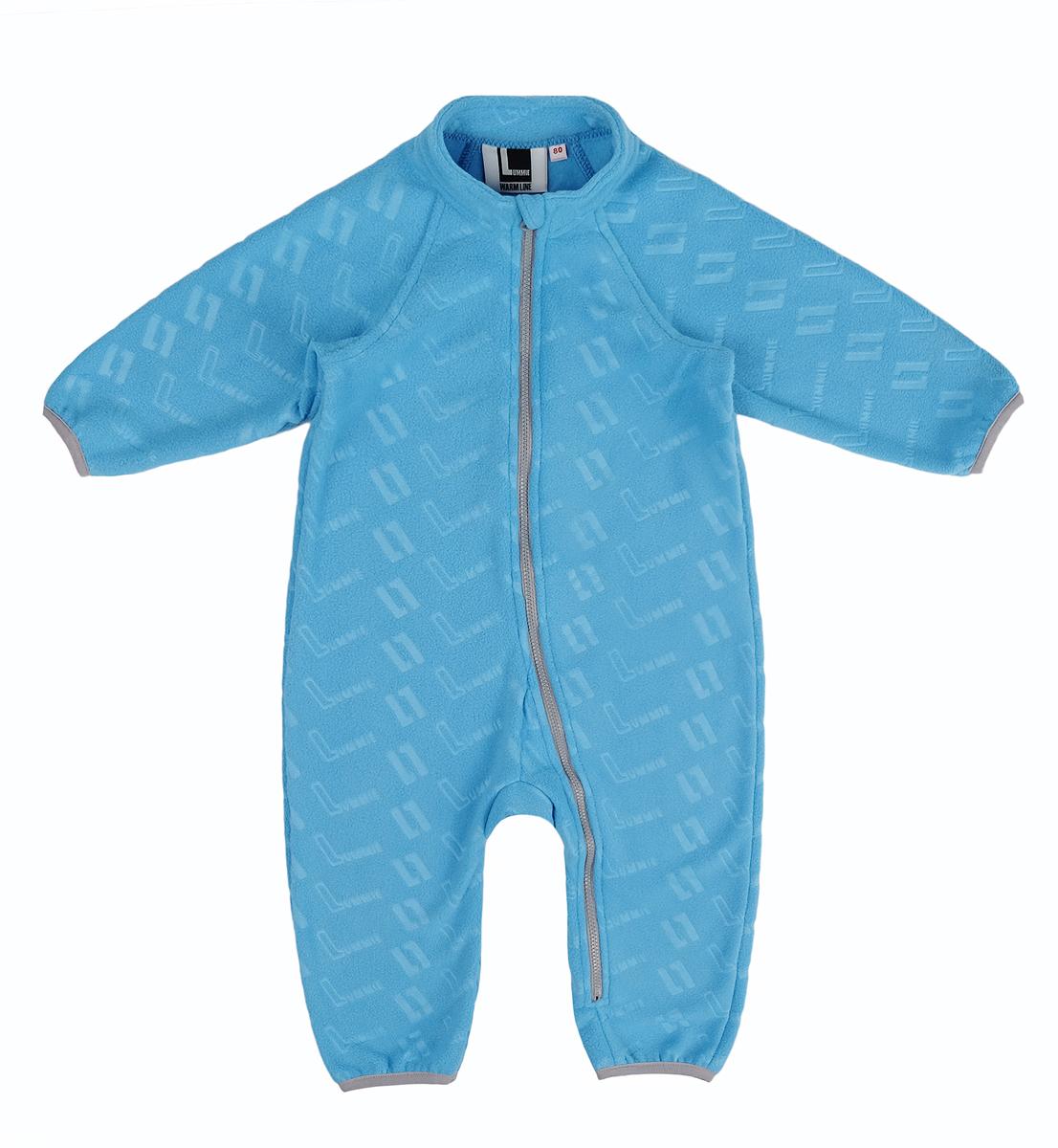Комбинезон флисовый детский Lummie, цвет: синий. WL-21 L_blue. Размер 92, 2 годаWL-21 L_blueДетский комбинезон Lummie выполнен из мягкого и теплого флиса. Модель имеет длинные рукава-реглан, застегивается на молнию. Манжеты рукавов и брючины дополнены эластичными резинками.