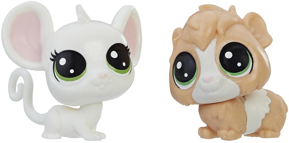 Littlest Pet Shop Набор фигурок Zoe Housemouse & Guinsey Pigson набор для детского творчества набор д вышивания гладью littlest pet shop