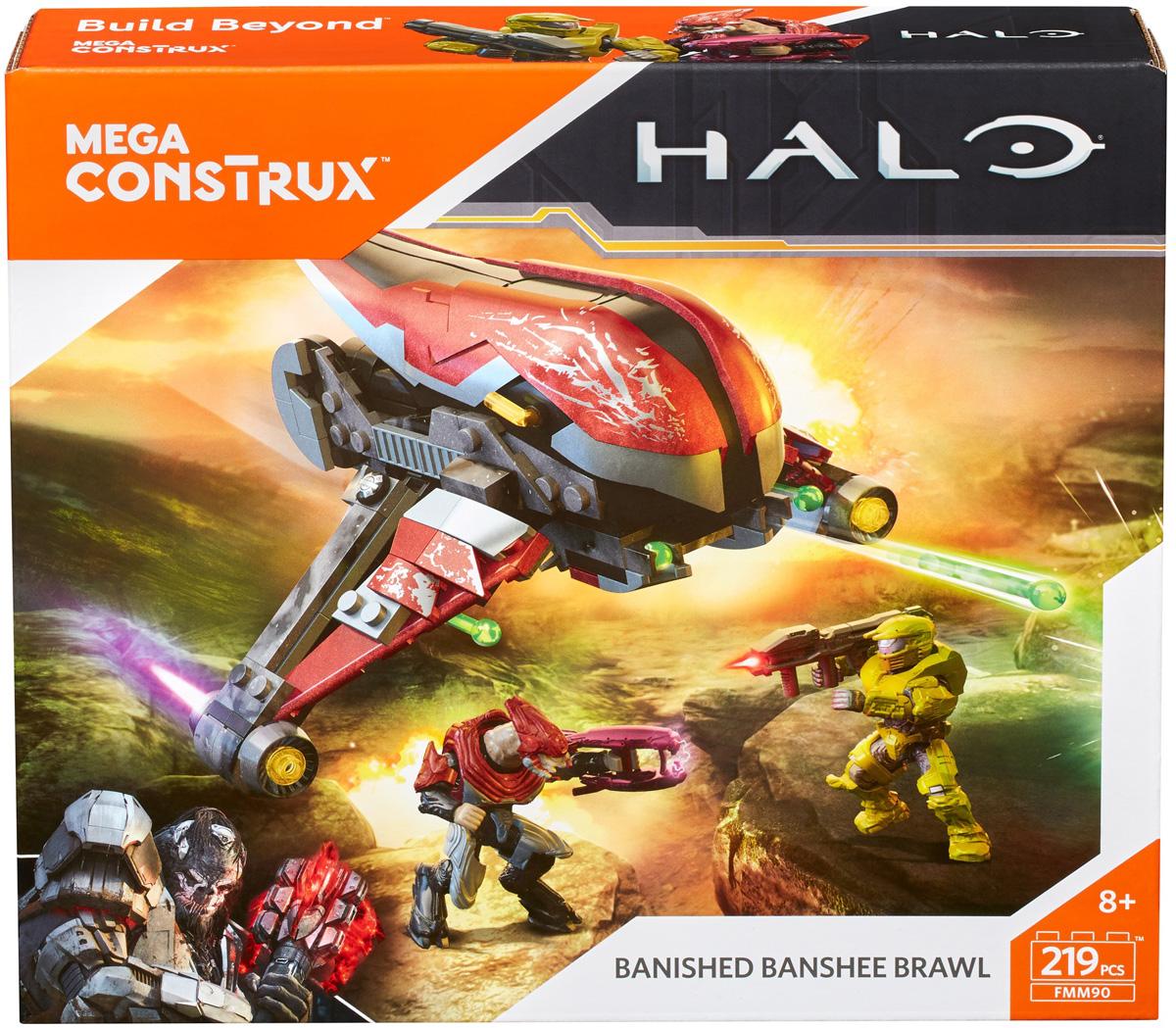 Mega Construx Halo Конструктор Борьба воинов - Конструкторы