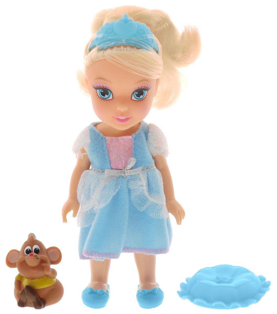 Disney Princess Игровой набор Petite Cinderella and Gus disney princess disney princess золушка cinderella с развивающейся юбкой