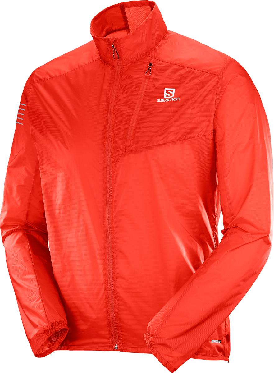 Ветровка мужская Salomon Fast Wing JKT M, цвет: красный. L40078200. Размер XXL (54)