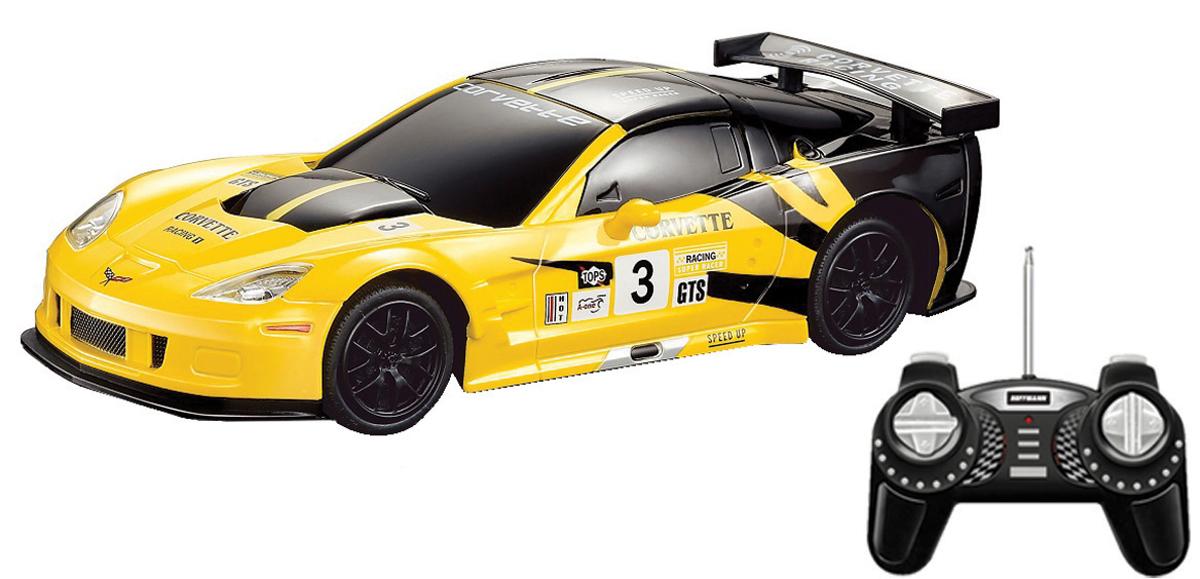 Hoffmann Модель автомобиля Chevrolet Corvette C6R масштаб 1:24 модель шоссейного автомобиля kyosho inferno gt2 ve rs corvette c6r 4wd rtr масштаб 1 8 2 4g