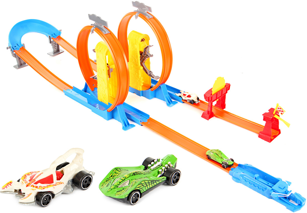 Veld-Co Игрушечный трек + 2 машины 58414 - Транспорт, машинки