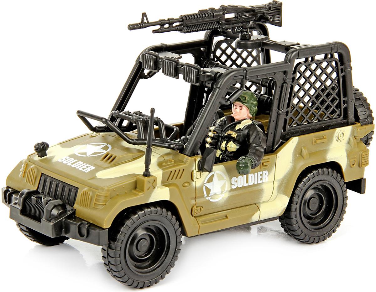 Veld-Co Набор военный для сюжетной игры с джипом veld co игровой набор с куклой детский доктор