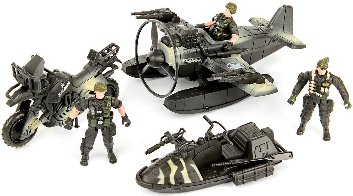 Veld-Co Набор военный для сюжетной игры с самолетом veld co игровой набор с куклой торговый центр