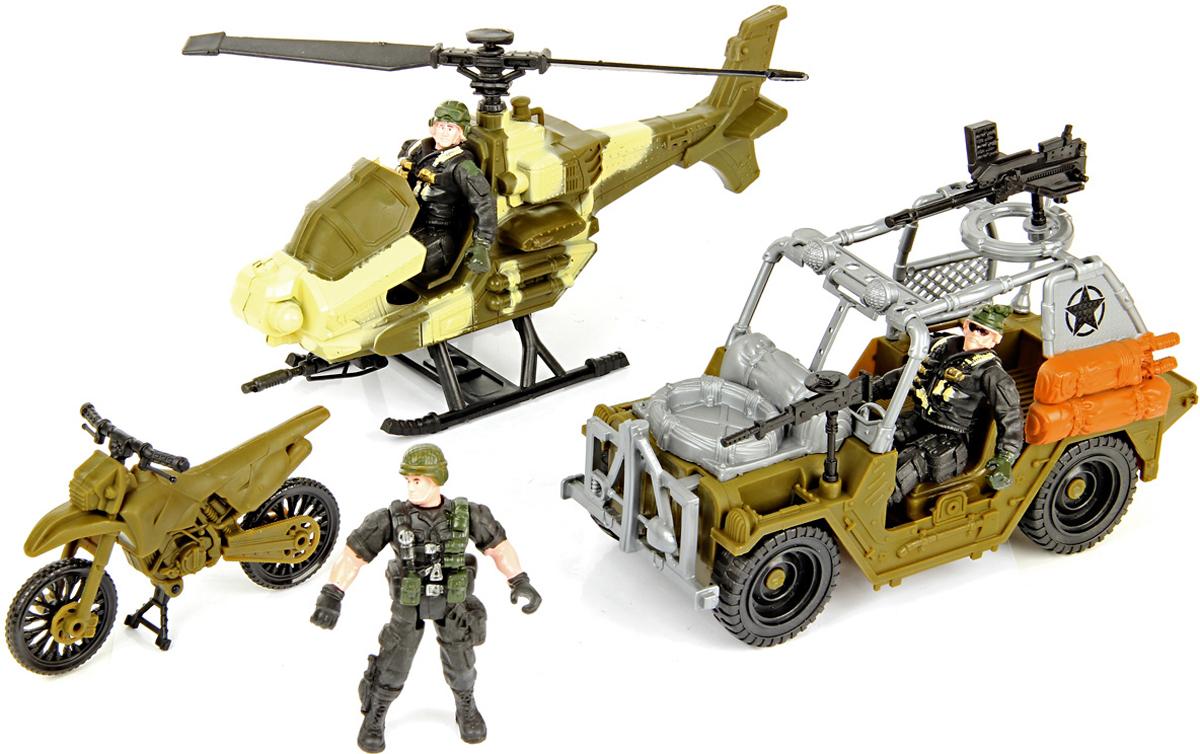 Veld-Co Набор военный для сюжетной игры veld co игровой набор с куклой торговый центр