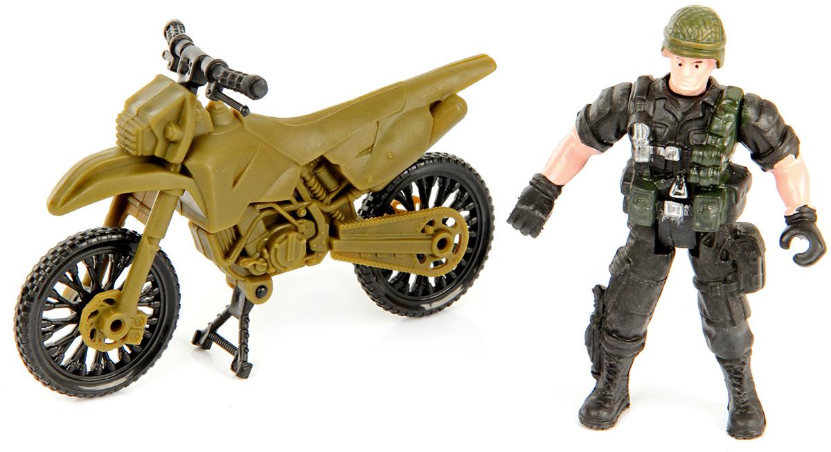 Veld-Co Игровой набор Военный с мотоциклом veld co игровой набор с куклой торговый центр