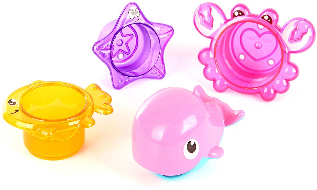 Ути Пути Набор игрушек для ванной 4 шт 61558 цена