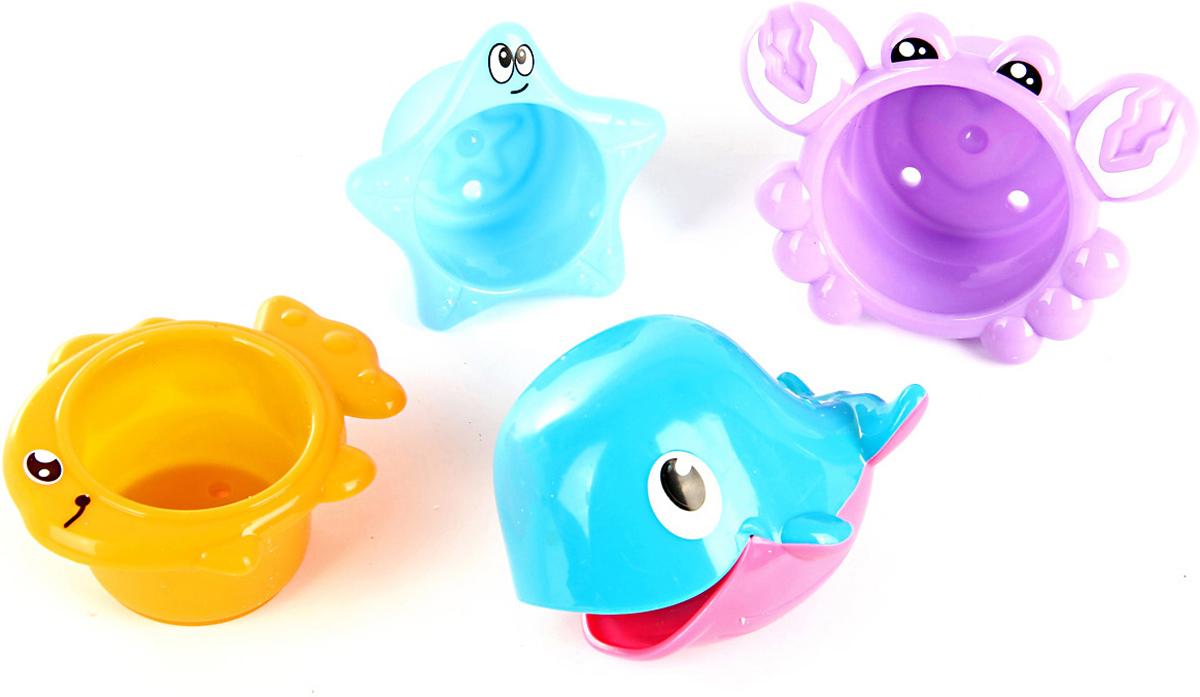 Ути Пути Набор игрушек для ванной 4 шт 61561 цена
