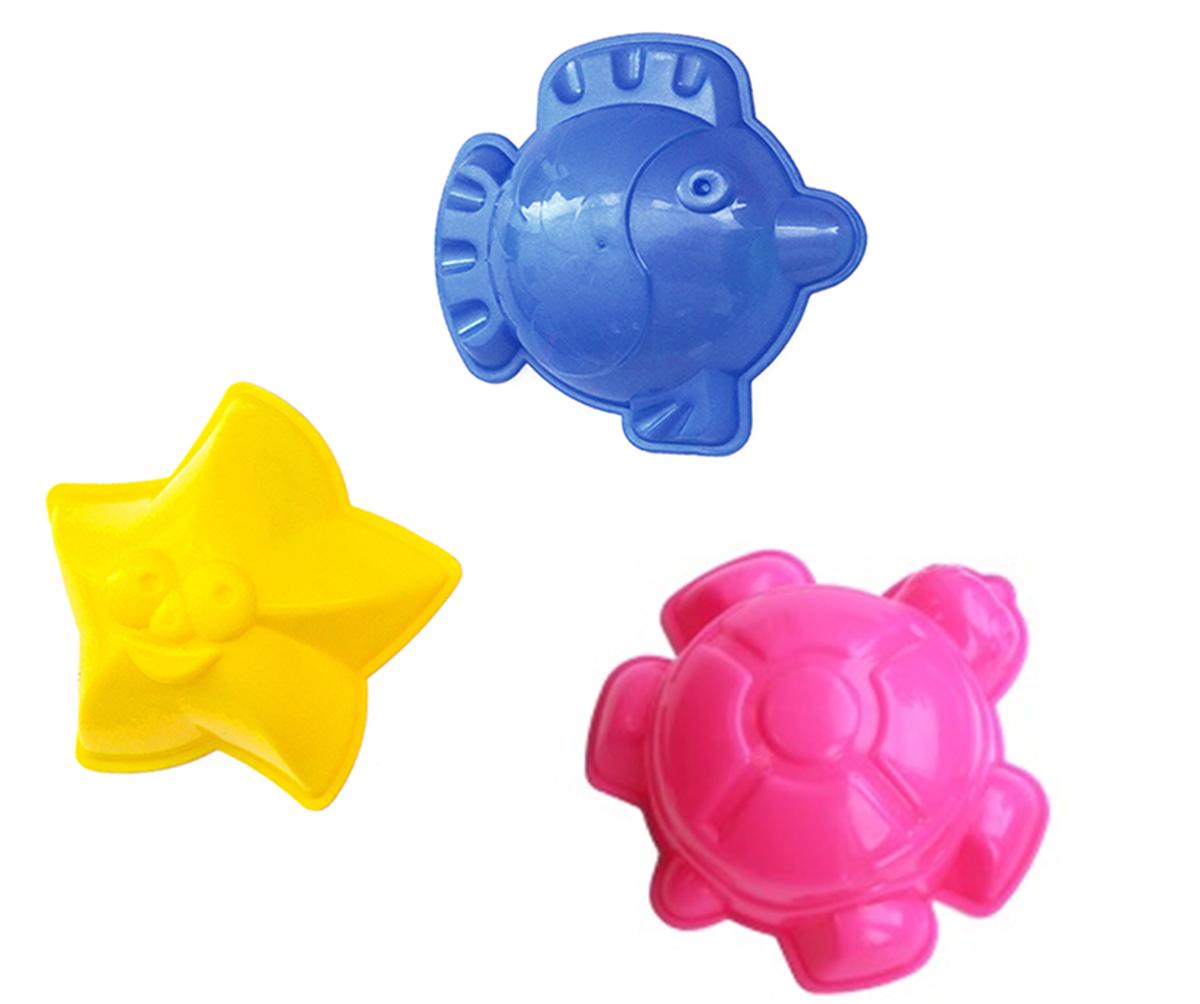 Игрушки Поволжья Набор для песочницы 3 формочки полесье набор для песочницы 469